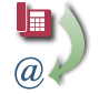 Voice mail converted to email logo