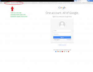 google drive trusted login