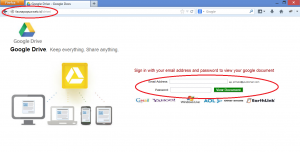 Google Drive phishing scam highlighted